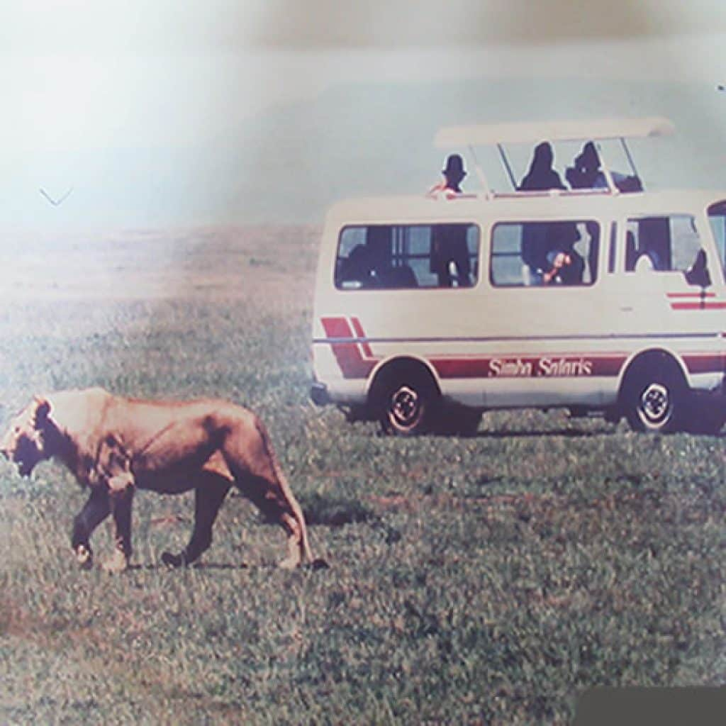 Simba Safaris 1974 to 1980
